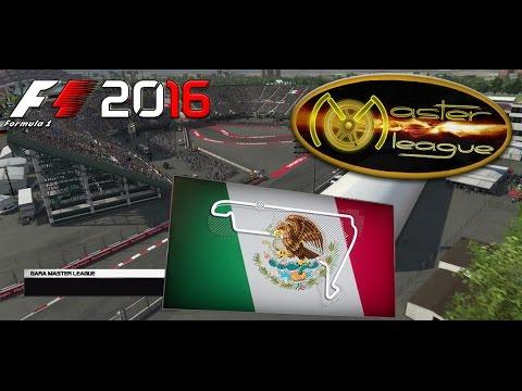Master League F1 2016 #19 GP Mexico Hermanos Rodriguez 13.04.17 - Live Streaming 1080p