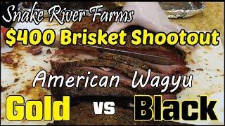 $400 Wagyu Brisket SRF Gold vs Black Review How-To BBQ Champion Harry Soo SlapYoDaddyBBQ.com Weber