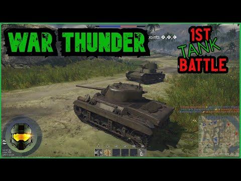 Let's Play Tank Battle Evan & Dad First Time War Thunder Ground Battle |