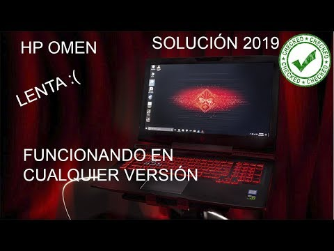 HP Omen lenta -Solución 2019-