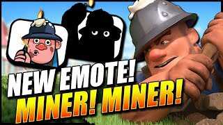NEW MINER EMOTE!! 15 Win Miner Draft Challenge! - Clash Royale