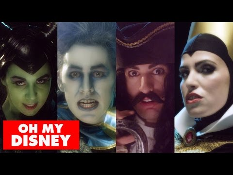 OneRepublic - Counting Stars feat. Disney Villains