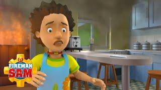 Sauvetage d'incendie à la maison! | Pompier Sam Officiel | Dessins animés pour enfants