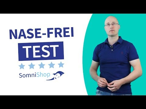Schnarch-Test: Nase-Frei-Test