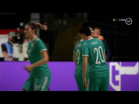 FIFA 18 Alex Hunter Sister Kim Hunter Women's National USA vs Germany Full Gameplay Movie Cut