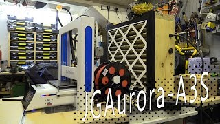JGAurora A3S 3D Printer Review / It's Not A Game Console