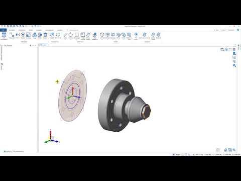 Edgecam Designer – Tworzenie brył na podstawie dokumentacji 2D
