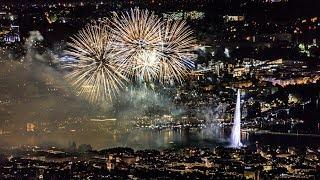 В Женеве показали салют стоимостью 700 тысяч евро
