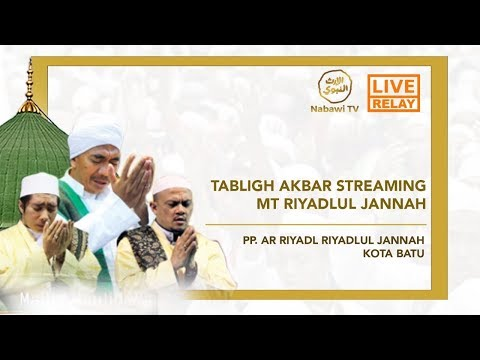 LIVE Riyadlul Jannah  Bermunajat & Bersholawat Untuk Indonesia - Riyadlul Jannah Kota Batu