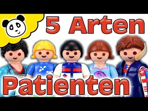 Playmobil Krankenhaus - 5 Arten von Patienten - Playmobil Film