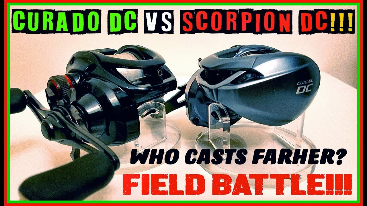 f784c529ffd CURADO DC VS SCORPION DC CAST DISTANCE BATTLE! CAUSE YALL KEPT ASKING FOR  IT!