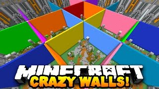"Minecraft CRAZY WALLS ""BEST MINI-GAME EVER?!"" #1 
