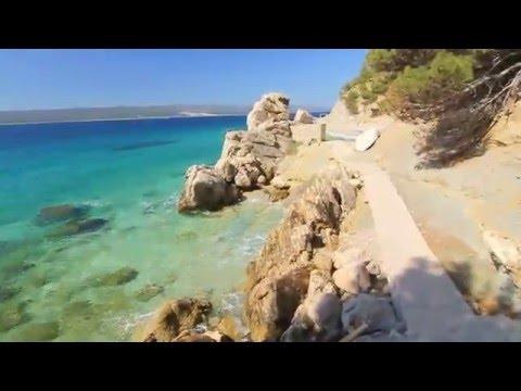 Path to Žalo Beach, Marušići, Croatia