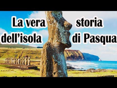La [NON VERA] Storia dell'Isola di Pasqua.