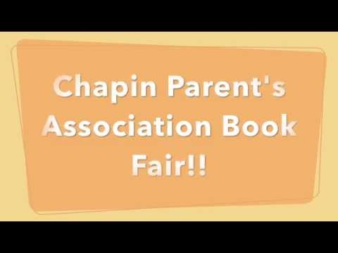 Chapin School Princeton's Parent's Association Book Fair