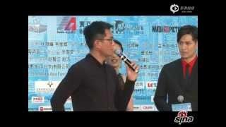 古天樂:【單身男女2】北京發佈會現場慶生,楊千嬅唱生日歌 2014.10.22
