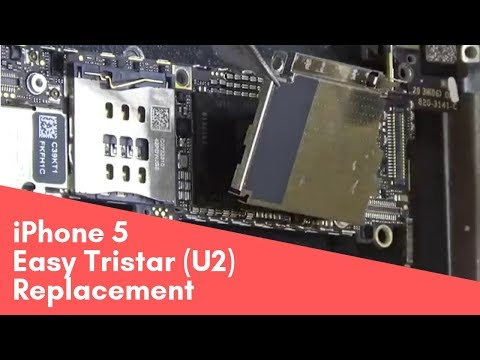 iPhone 5, легкая замена U2 \ Tristar easy replacement