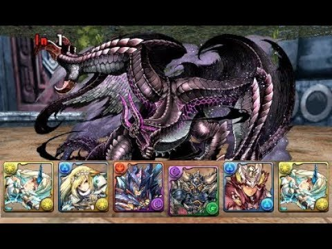 [Puzzle and Dragons] Monster Hunter Quest - Lv9 - Fixed Team (Co-op)