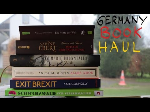 Buying Books In Germany | Haul