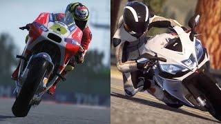 motoGP 15 vs. Ride Game Review