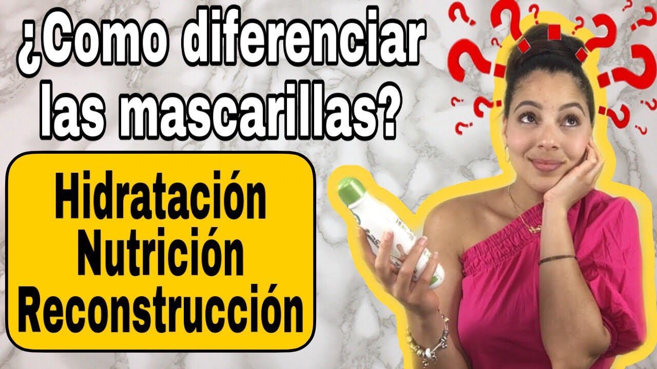 COMO DIFERENCIAR LAS MASCARILLAS CAPILARES💦Wendy Mendoza