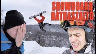 HALÁLFÉLELEM - ELSŐ SZALTÓM SNOWBOARDDAL- SIKERÜL?? | ZOZO KEMPF