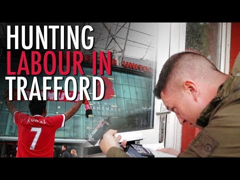 Tommy Robinson: Hunting for Labour Councillors in Trafford