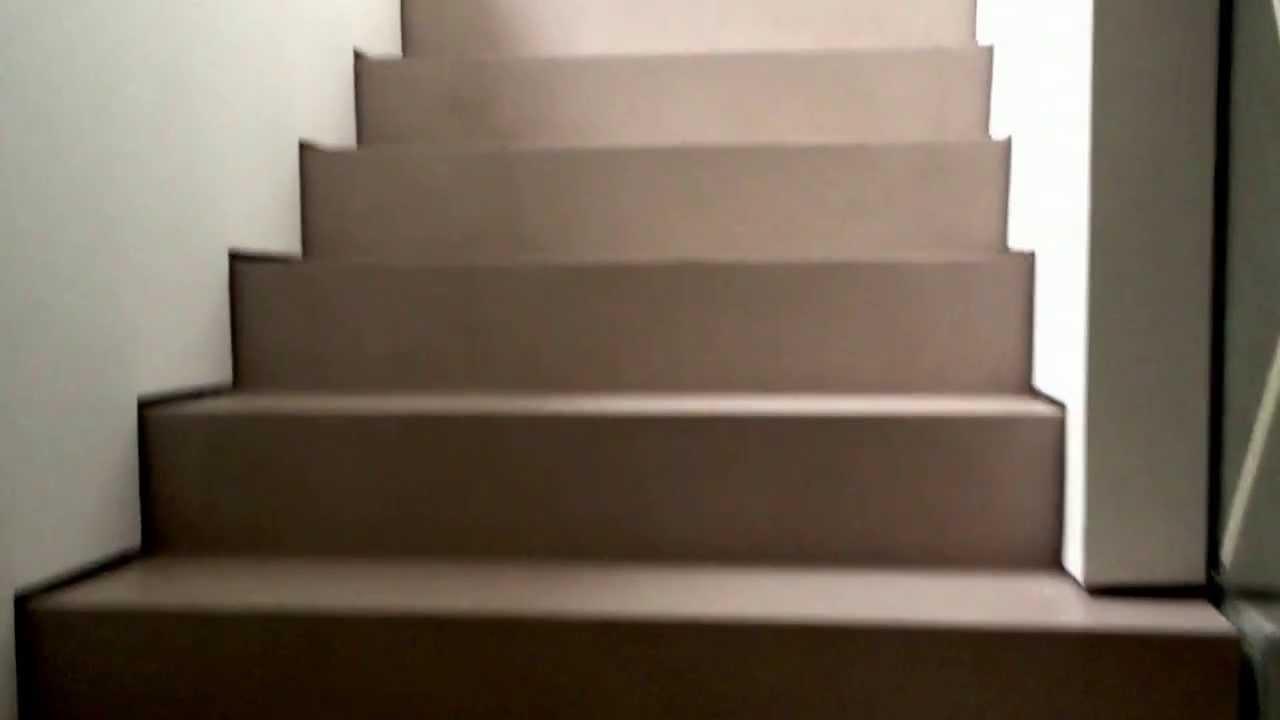 Scale e pavimento in resina -- Colpo d\'occhio cod.8810 - YouTube