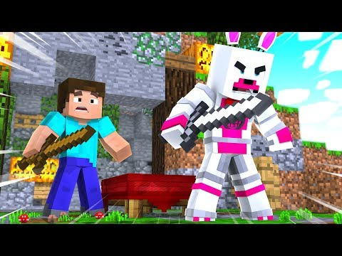 Funtime Foxy And Lolbit Help The Enemy Team (Minecraft Fnaf Roleplay Adventure)