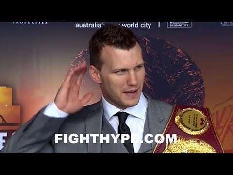 JEFF HORN RESPONDS TO HEADBUTT CLAIMS; SAYS CORCORAN AFRAID AND WARNS ABOUT BITING