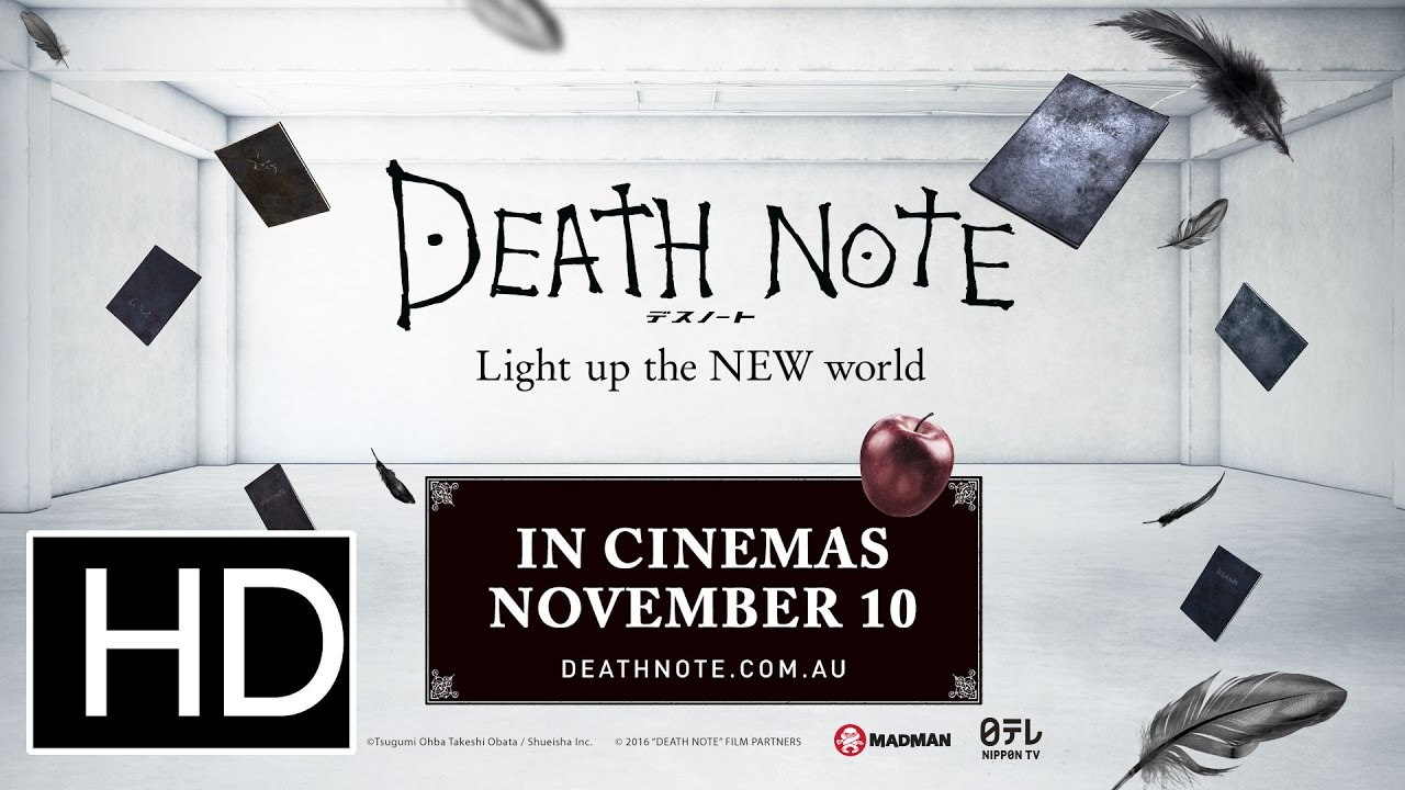 Download Death Note: Light up the NEW World - Official Theatrical Trailer
