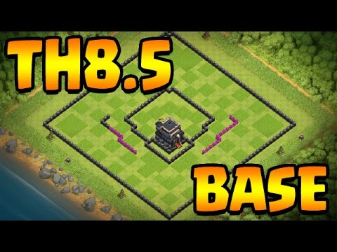 Clash Of Clans: MY TH9 TH8.5 BASE