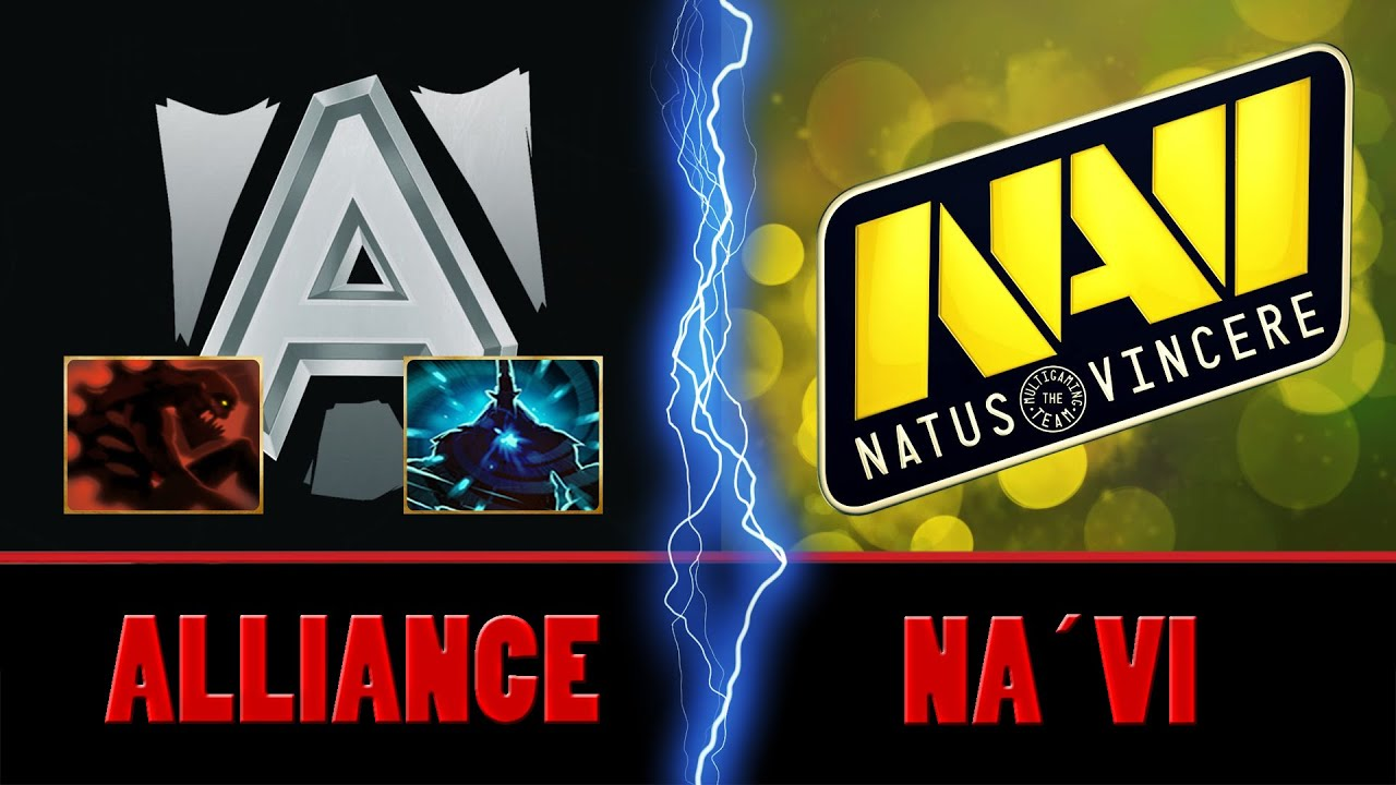 alliance vs na vi group stages game 1 full game ti6 dota 2