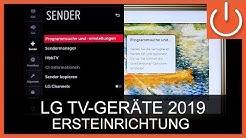 LG TV 2019 Ersteinrichtung Thomas Electronic Online Shop Erstinstallation LG LineUp 2019