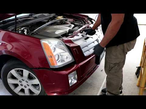 2004-2009 Cadillac SRX Headlight Bulb Replacement