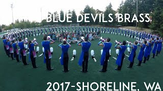 Blue Devils  2017 - Brass Warmup - Shoreline, WA {Quality Audio} [4K]