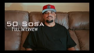 50 Sosa on Tupac, E-40, Kanye West, 50 Cent,  Thizzler, New Album X.I.V and More (Full Interview)