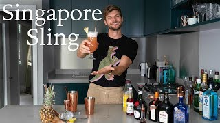 HOW TO MAKE A SINGAPORE SLING | #TFIFRIDAY