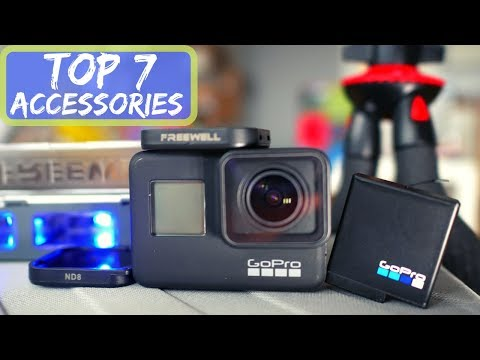 GoPro Hero 7 TOP 7 Accessories: Case, Filters, Batteries, Charger and More!