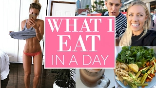 What I Eat In A Day | Healthy Grocery Snacks | Booty + Leg Exercises