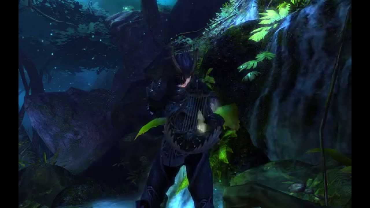 Guild Wars 2 - Fear not this night on piano - video ...