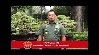 Panglima TNI : Ucapan Selamat Hari Raya Idul Fitri 1438 H.