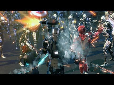 Marvel Heroes 2015 - Official War Machine Trailer