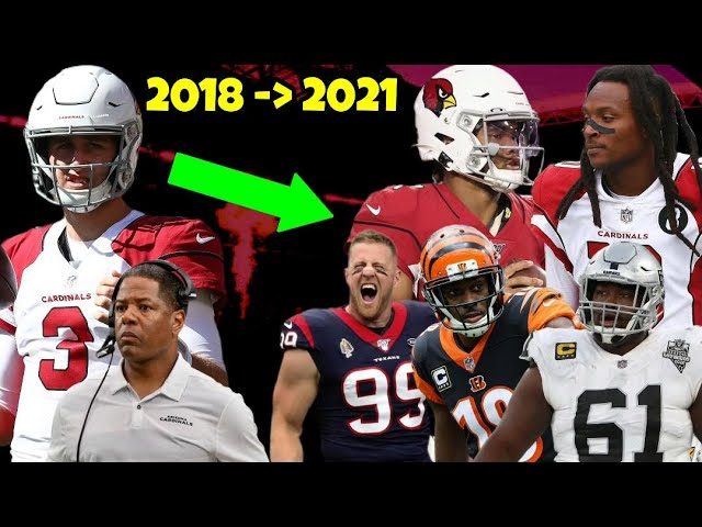 How The Arizona Cardinals Went From 3-13, To Super Bowl Contenders in 3 Years