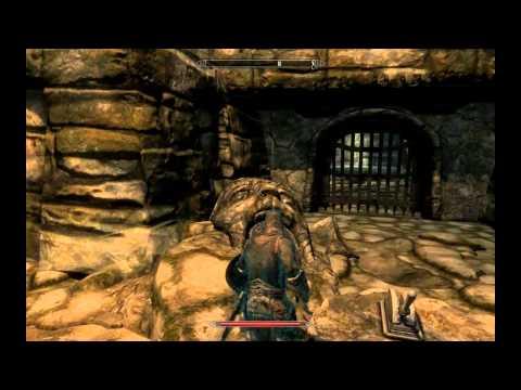 Skyrim mision: La garra dorada, español HD.