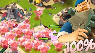 Boom Beach GRENADIERS WITH 100% MORE SPEED! Insane Grenadier Splash!