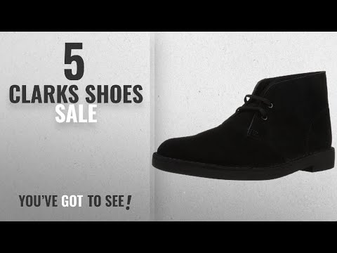 Top 10 Clarks Shoes Sale [2018]: Clarks Mens Bushacre 2 Chukka Boot, Red, 7 M US