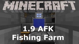 fishing farm 1 9 mending and frost walker minecraft tutorial