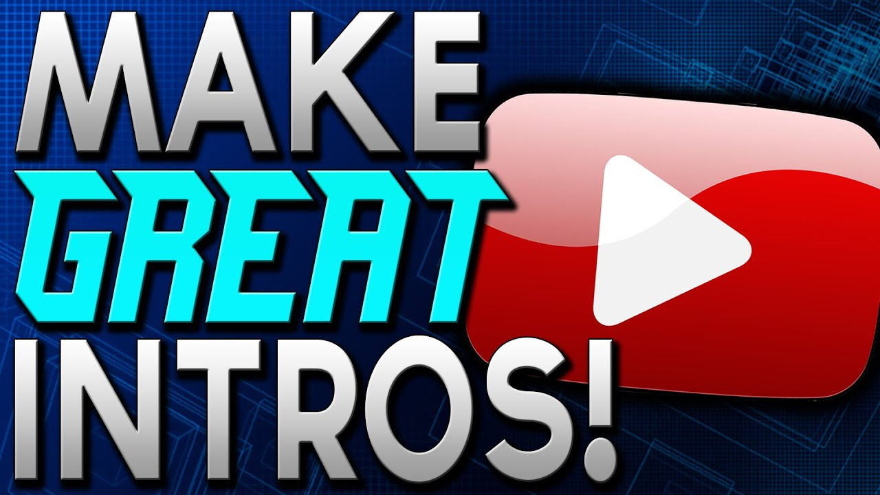how to make an epic youtube intro    free  u0026 easy   2016
