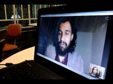 Entrevista com Luís Saraiva via skype